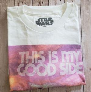 Baby Yoda white t-shirt